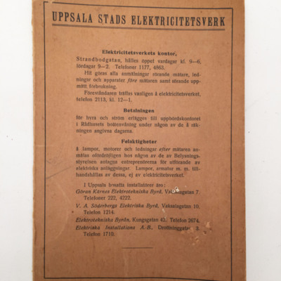 Uppsala Vatten · Bläddra bland objekt
